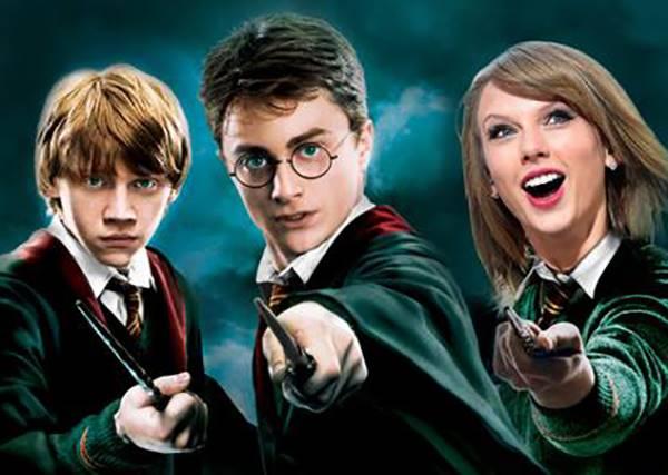 音樂創作者注意!能把電影哈利波特和泰勒絲主打歌做混曲才絕咧~