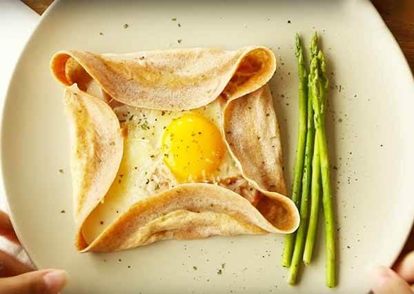 法式鹹薄餅 Galette