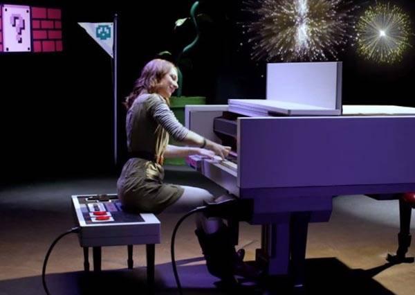 向任天堂之父致敬!音樂家用紅白機鋼琴和特效再現瑪莉歐經典場景