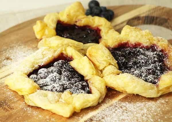 隨興藍莓派 Free - Form Blueberry Pie