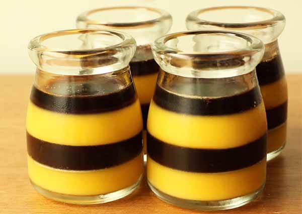 焦糖布丁凍 Caramel pudding jelly