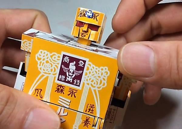 童年最愛的「牛奶糖盒」居然可以化身變型金剛?來看高手到底是怎麼完成的!
