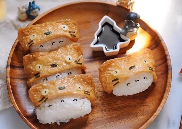 嫌壽司太普通?龍貓壽司萌翻你的餐桌