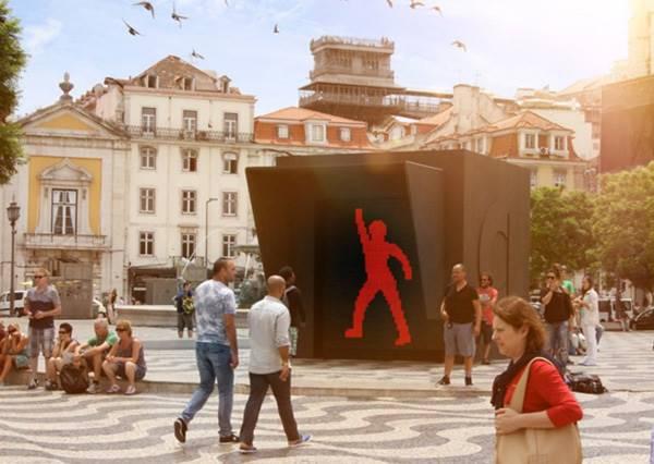 跳吧跳吧小紅人!葡萄牙紅綠燈不僅好動,還邀路人邊等邊尬舞