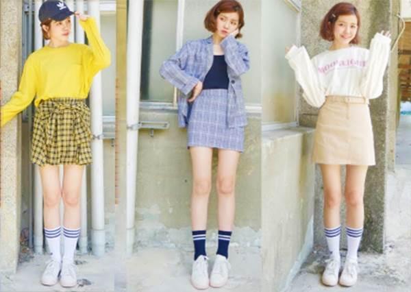 超甜美大學生穿搭特輯!讓你一週上學都好像有新衣服穿的概念