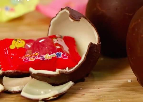 時代的眼淚!一起做出記憶中的「巧克力出奇蛋」,為了得到玩具吃幾個都沒問題!