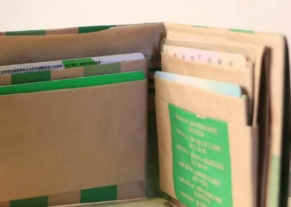 一個紙袋就能做出皮夾,你相信嗎?