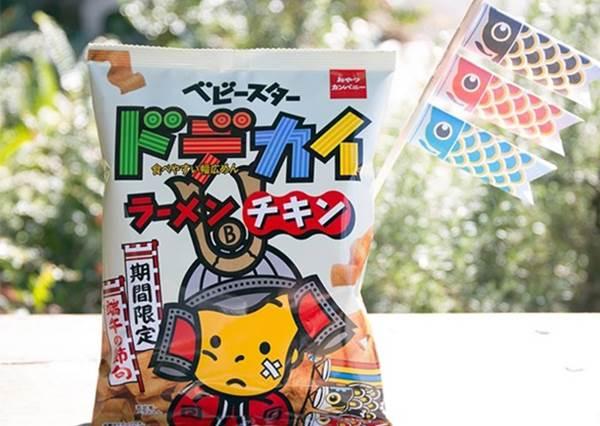 【日本經典零食模範生點心麵吉祥物居然要退休了!? 】好家在~還吃得到這零食啦! 只是代言人換掉而已 !