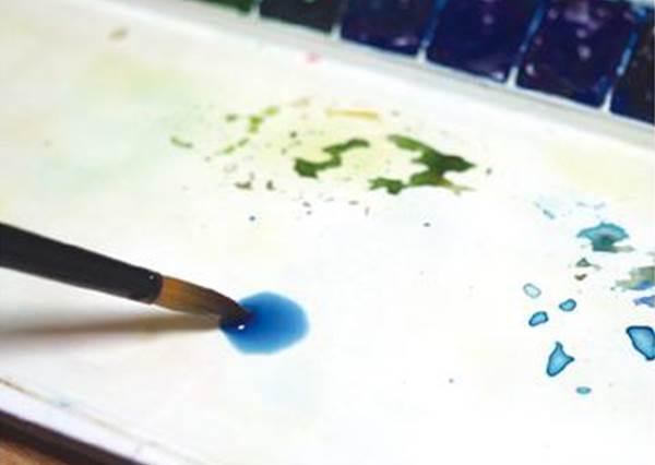 原來小花要這樣畫才美?達人教「水彩筆」基礎畫線,以後在卡片上畫小小的也很有心意❤