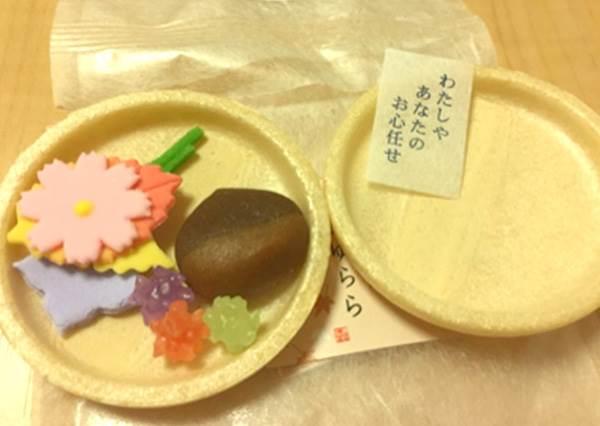 這款伴手禮超印象深刻!和菓子除了吃以外還能求運勢,收到籤詩就感覺像自己去過日本!