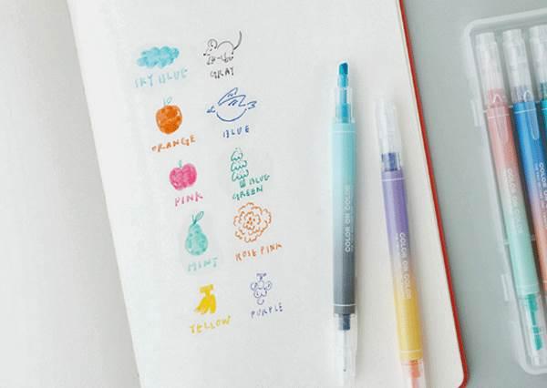 字寫得醜是因為你缺這幾支筆?文具控必蒐集的5款螢光筆:水感漸層色不整套帶走怎麼行