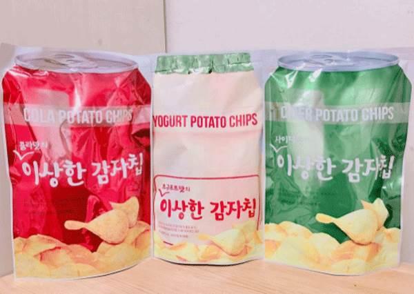 這吃起來到底是什麼味道啊?韓國最新必掃「飲料洋芋片」:又有養樂多口味了!