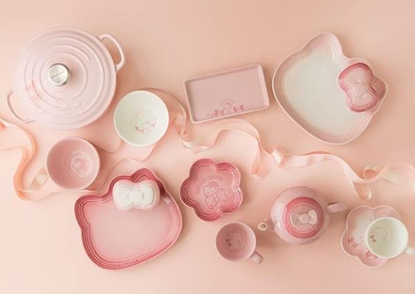 粉紅控+Kitty迷都要瘋了吧!完全是一套不會煮菜也可以蒐集的廚具,我可以❤