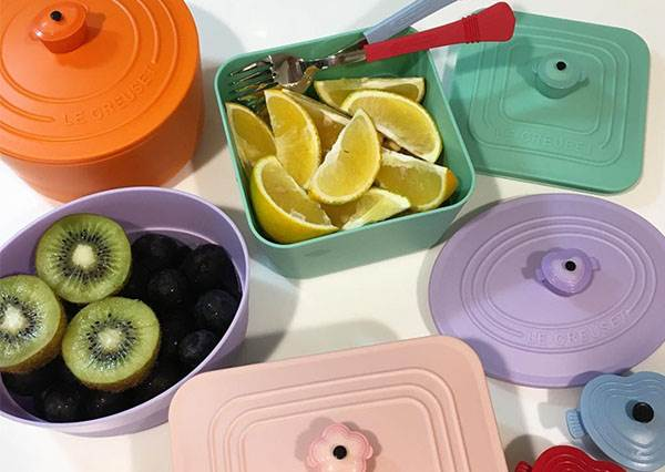 這波集點沒換到很難不後悔啊!小7粉嫩色系餐具組,每個顏色都想收集成套啊❤