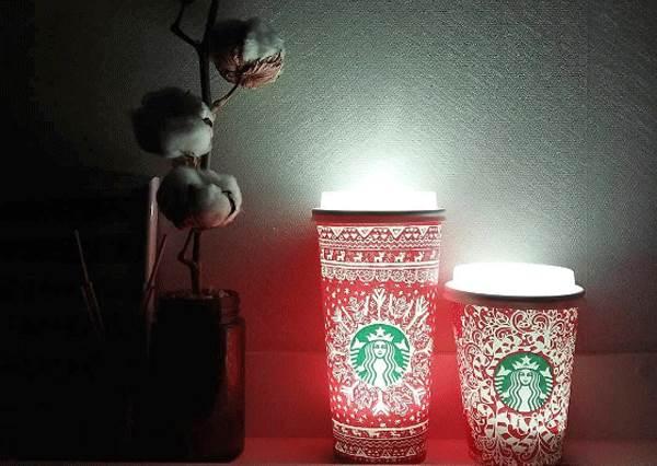 女神連半夜都想伴你入睡!喝完不丟還能DIY「星巴克小夜燈」,簡單又比外面現成賣得還便宜!