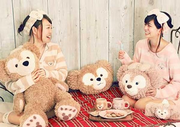 【達菲熊跟Q-pot聯名推出夢幻甜點系列飾品 ! 】準備手刀添購囉~!