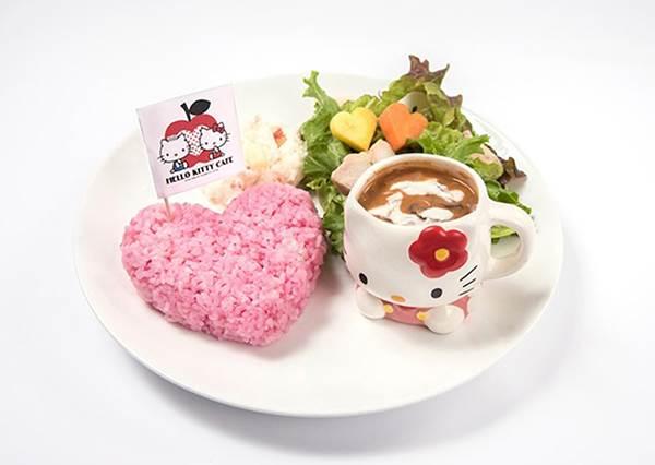 你吃過黑色的墨魚漢堡,但一定沒看過「白色Kitty堡」!激起少女心的14款凱蒂貓限定餐點