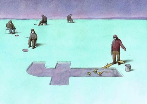 你還在以FACEBOOK窺天嗎?9張超諷刺畫,看你是潛望鏡or觀察家!