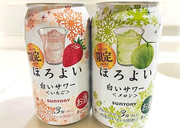 台灣就能買的到!日本新推「白色沙瓦」冬季限定:草莓口味果然一直被掃空!