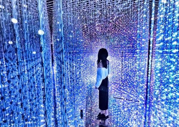 這個角度取景更好看!根本是為少女開的銀河系夢幻展覽?隨便拍都美翻天❤