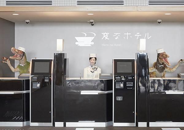 日本「奇怪的旅館」究竟有多奇怪?找恐龍來當接待員就算了,就連電燈開關都不用自己來!
