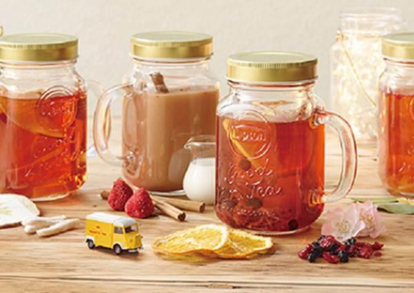 其實大家的重點是在這個玻璃罐吧?日本立頓紅茶好評再推期間限定店:還能自己特調!
