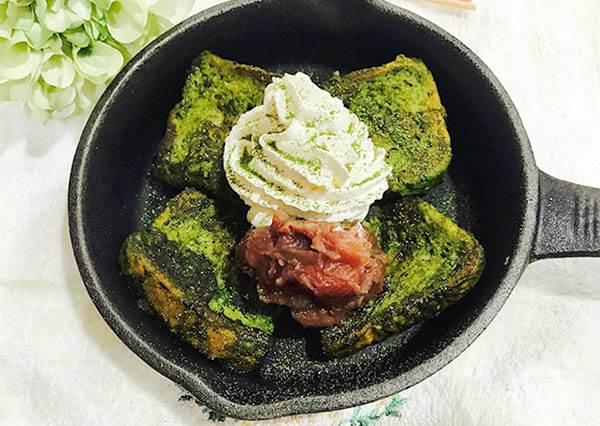 日本網路上發燒中!讓你想把減肥放一邊的「抹茶法國吐司」,終於有食譜被試成功了?
