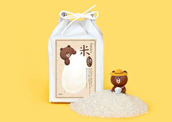連吃白飯都能吃的很可愛❤熊大和兔兔竟然賣起米了?想不到莎莉款還有麻糬的口感...