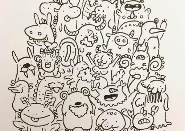 這根本是動物版的TSUM TSUM啊!超萌動物堆疊畫作,秒讓你也想在家找面牆畫~