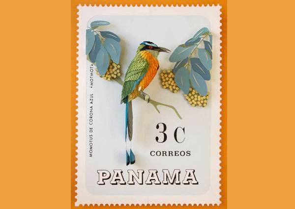 集郵達人,這款你一定沒有!超美立體版「紙雕郵票」,小鳥的羽毛到底怎麼做到的?