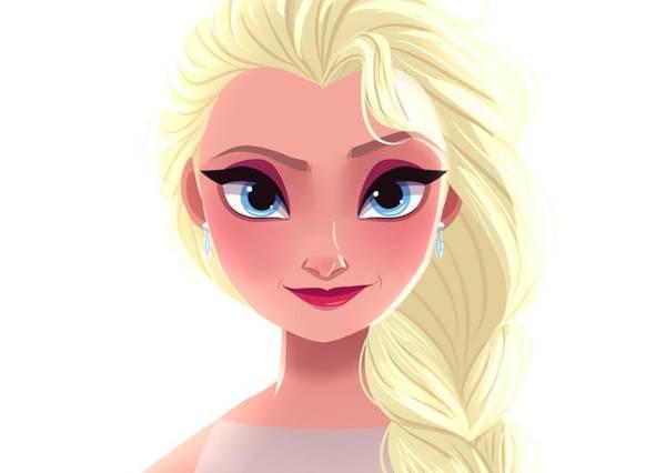 花木蘭的證件照也太有女人味?迪士尼公主們拍大頭照,梅莉達公主一定會想把臉修瘦...