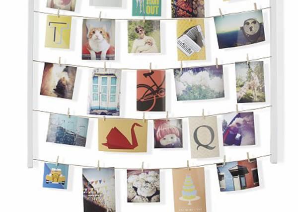 一邊佈置、一邊收納的牆面實用裝飾方法!如果有很多卡片和明信片的人可以試#1