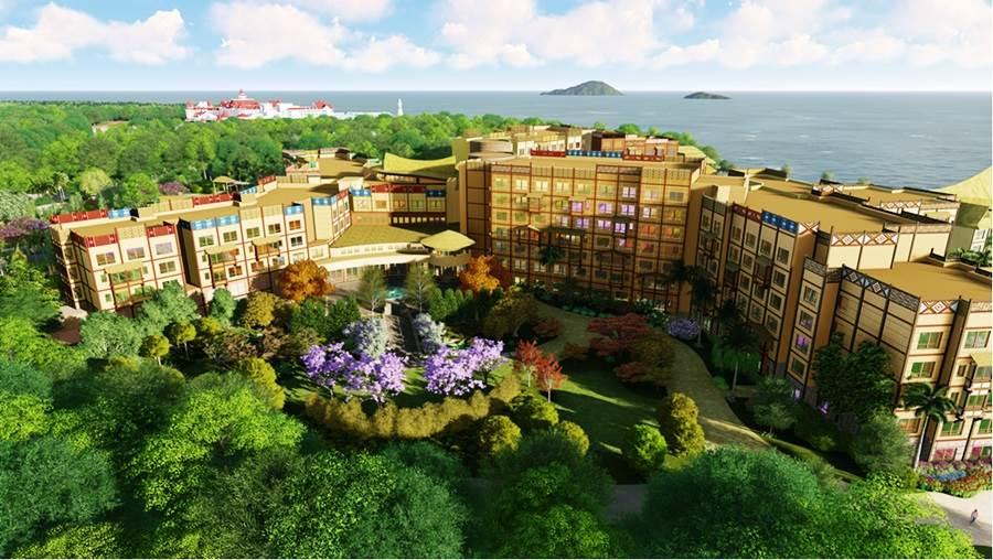 香港迪士尼探索家度假酒店開幕!4大迪士尼、皮克斯主題帶你從泳池玩到森林