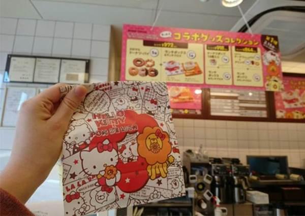 【日本 Mister Donut推出Hello Kitty跟布丁狗共同合作精品!】心融化了~錢掏空了~XD
