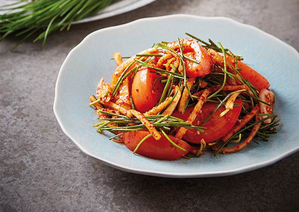 不會死辣反而多了一點甜味!可以現學現做的「番茄泡菜」,比原本的更唰嘴了