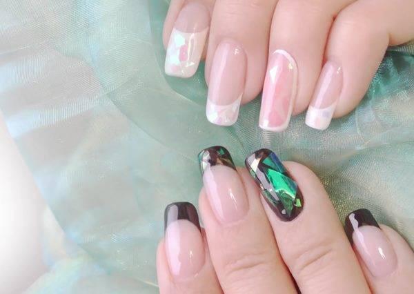 喜歡光療美甲的女孩必看!夏日HOT韓國玻璃指甲DIY♥
