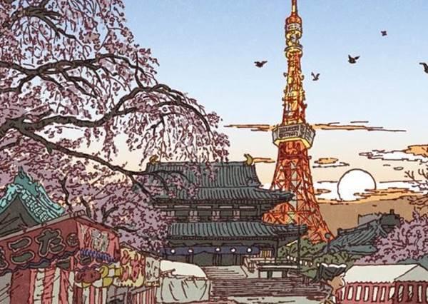 這樣的雷門讓人有點害怕啊?超奇幻童趣的東京下町100種風貌,想不到新宿變這樣!