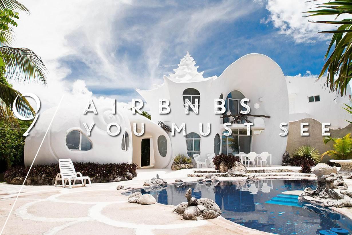 旅遊就只能住無聊的酒店嗎?熱搜9間特色Airbnb,想當陸上的美人魚可以選最後一間!