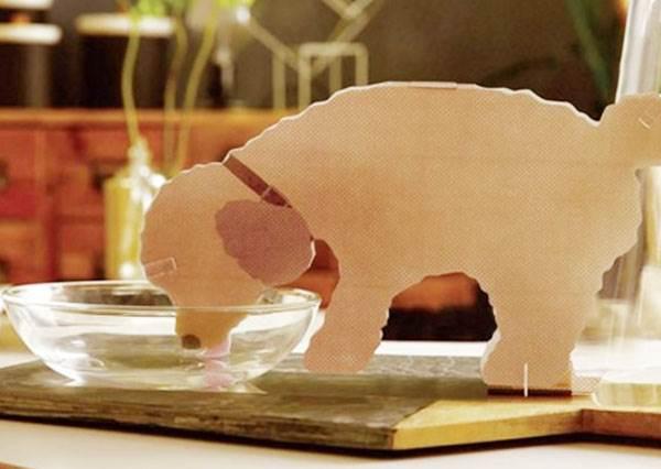 政府應該多多推廣啊!日本最新節能又可愛的「紙製加濕器」,竟然還出寵物造型!