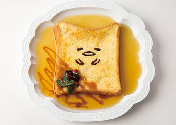 越吃越懶我也甘願了!日本限定蛋黃哥聯名餐點,必點舉牌寫著就是想騙讚的班尼克蛋啊!