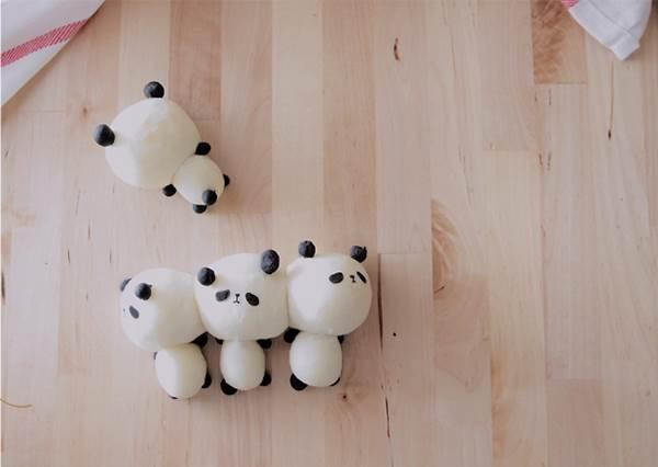 沒有基礎也OK!慵懶感「小熊貓手撕麵包」DIY圖文教學,真的是最容易成功的一次了