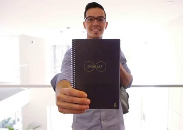 【美國推出寫你千遍也不厭倦的環保筆記本! 】既結合科技又同時找回寫字塗鴉的感動還有樂趣 !