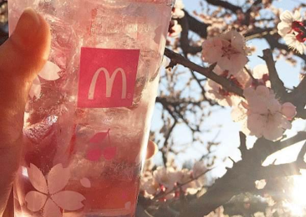 櫻花蝦薯條我可以吃10包!日本麥當勞限量櫻花餐點,粉色包裝又刷出新高度了