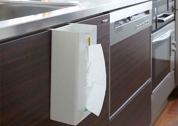 醜醜的衛生紙原來可以這樣收?挖掘隱藏式空間收納術,保證空間又激增!