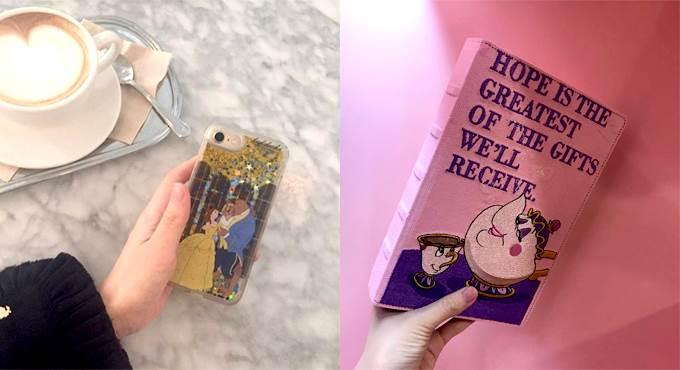 偽貝兒絕對必備!完全撩起購物慾的《美女與野獸》刺繡書&手機殼,你抗拒的了?