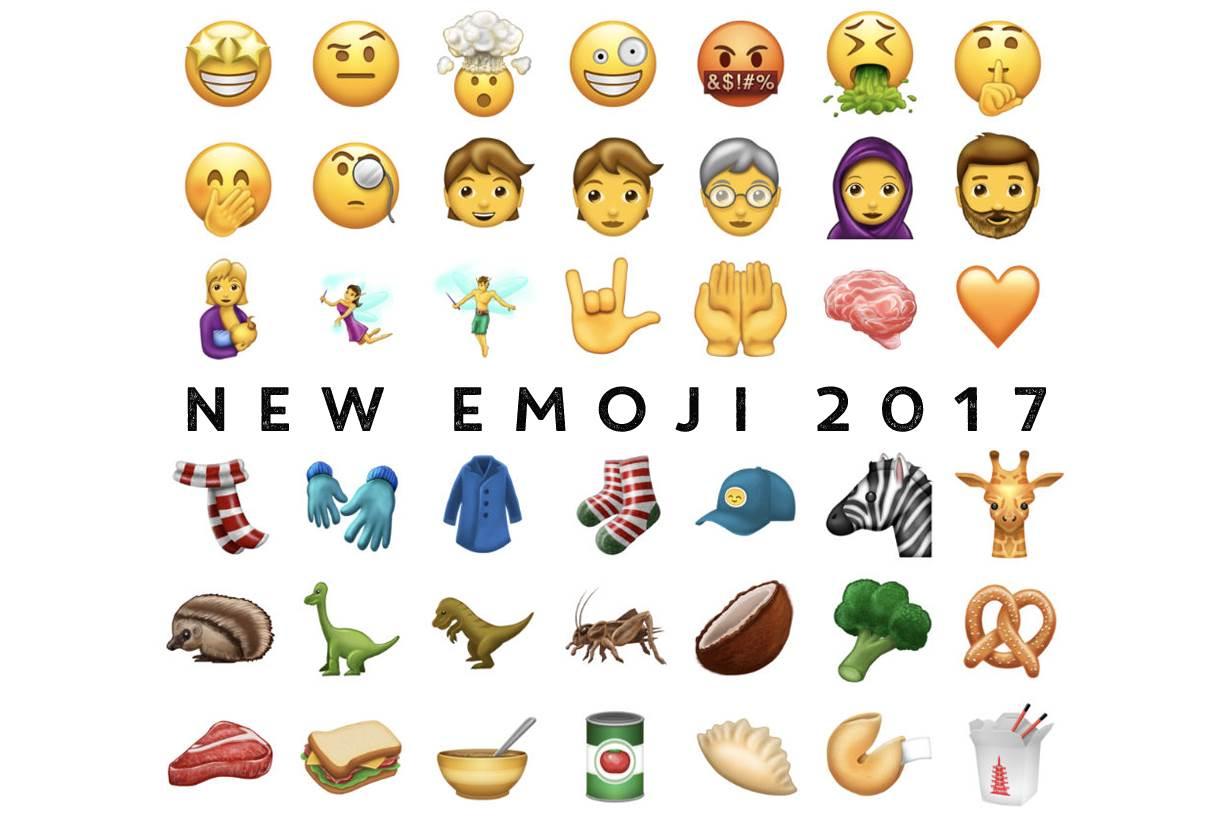 又有新款Emoji符號可以用了!尤其「代表髒話」的表情符號肯定會很常用吧?