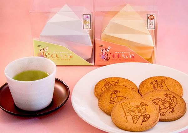 真的從桃子中出生的茶&煎餅?!日本超強創意零食,連命名都有巧思!