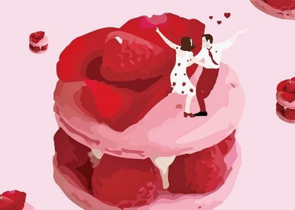 如果有草莓瑞士捲捷運可搭我願意天天上班啊!認真想入住的「模擬甜品城市」,抹茶心太軟溫泉養顏又好吃啊!