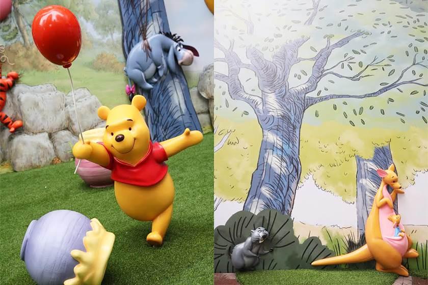 連森林都真的打造出來了!香港有史以來最大規模「小熊維尼」展覽,跪求台灣+1啊!