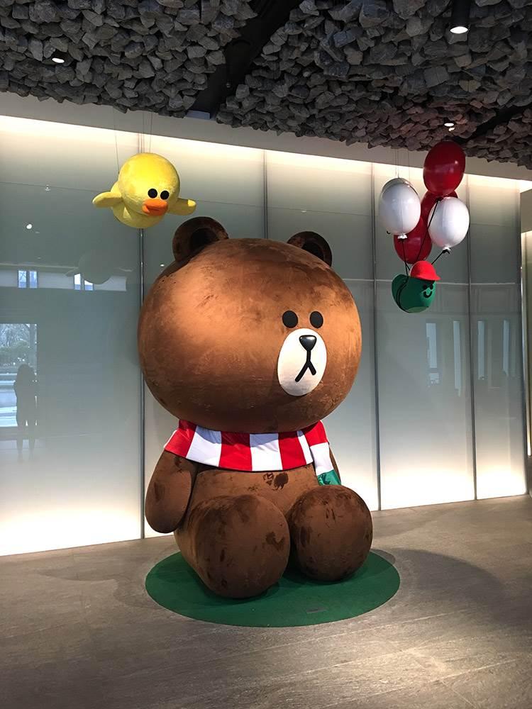 最夢幻房間!首爾Golden Tulip飯店推出熊大、兔兔限定主題房